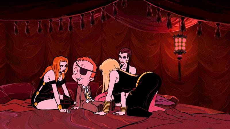 """Illustration for article titled The Venture Bros.: """"The Silent Partners"""""""