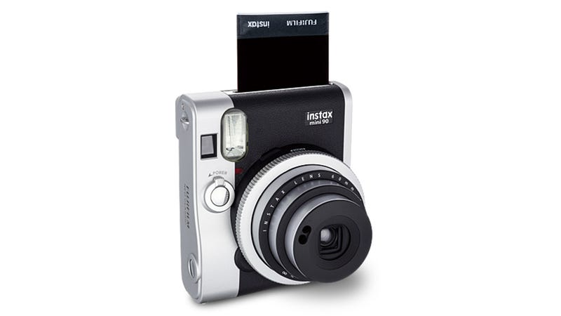 Illustration for article titled FujiFilm Instax Mini 90 Brings Retro Flair to Instant Film Cameras
