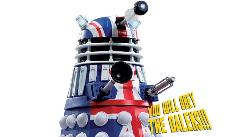 Illustration for article titled Patriotism of the Daleks