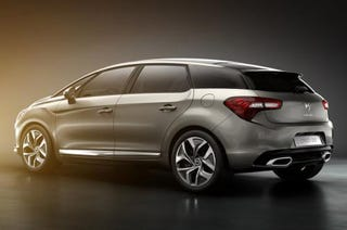 """Illustration for article titled Citroen DS5 defines the French word for """"crossover"""""""