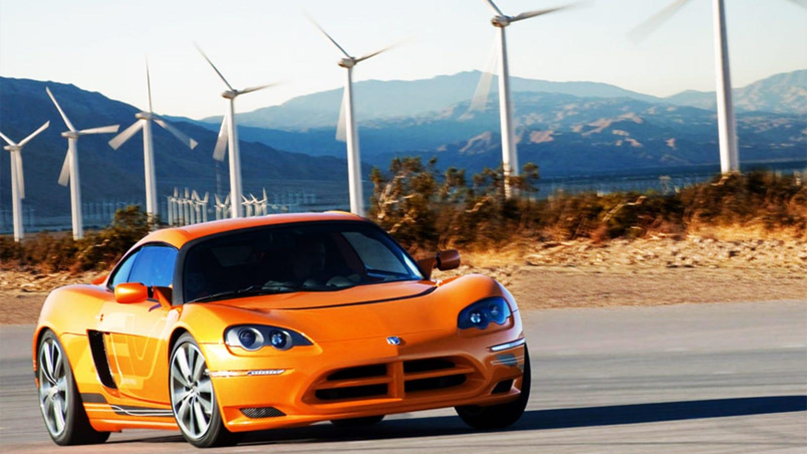 dodge pulls plug  circuit ev electric sports car