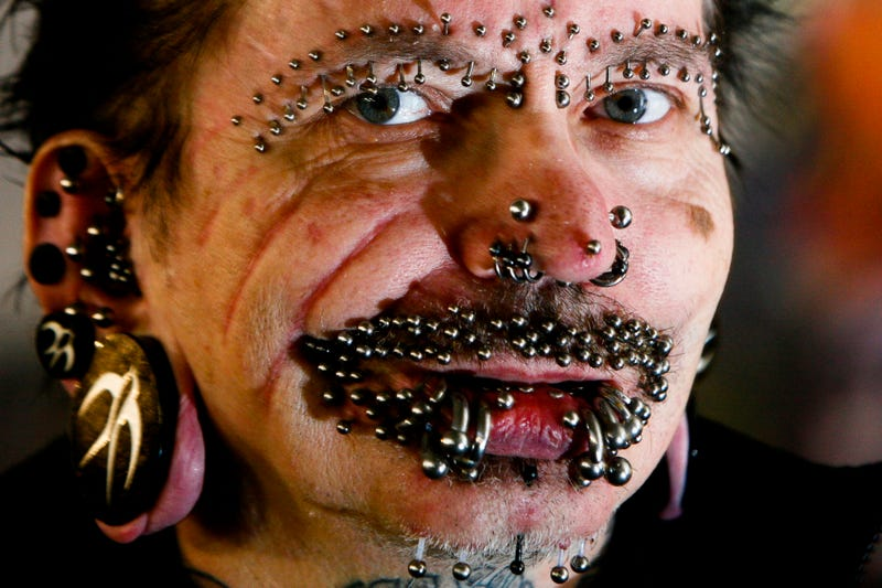 Illustration for article titled World's Most-Pierced Man Is Not Allowed Into Dubai