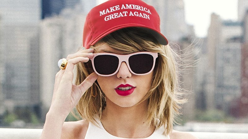 That Story About Taylor Swift Voting For Trump Is So Very