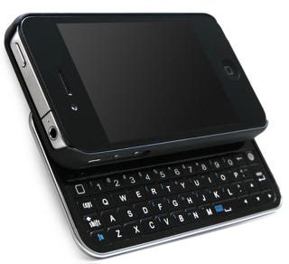 Illustration for article titled Keyboard Buddy: Make Your iPhone 4 the QWERTY Slider You Always Wanted