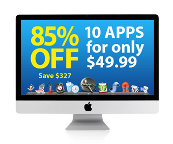Illustration for article titled MacPromo Bundle Brings 10 Time-Saving Apps to Your Mac for $50