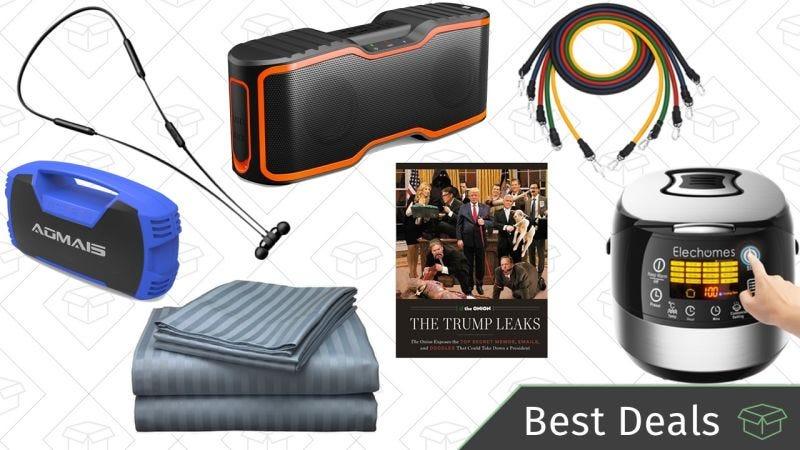 Illustration for article titled Las mejores ofertas de hoy: Altavoces Bluetooth, sábanas, arrocera y más