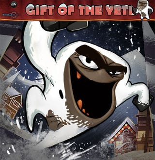 Illustration for article titled BioWare Labs Gives The Gift Of The Yeti