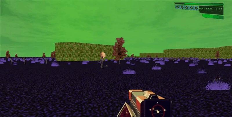 No Man's Sky Recreated in Doom with Mod