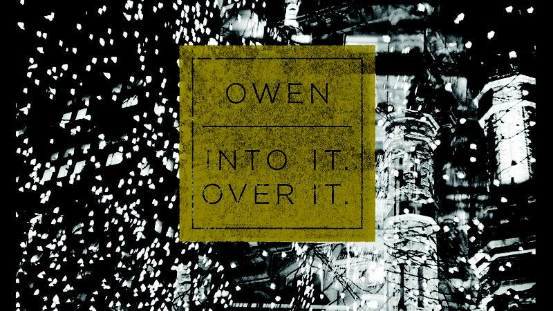 Illustration for article titled Owen and Into It. Over It. team up for a new split EP