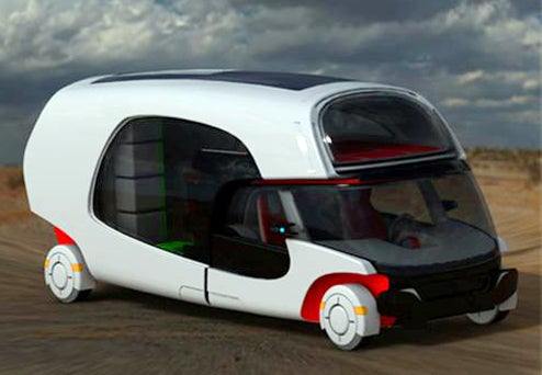 Detachable Rv Concept Shows Off Injection Molded Future