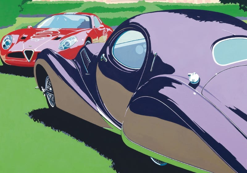 Illustration for article titled Yet another bespoke Ferrari will debut at swank Italian car festival