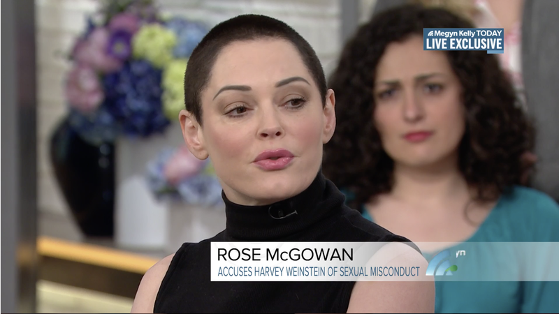 Rose McGowan on Harvey Weinstein's Arrest: 'To See Him in Cuffs...That's a Very Good Feeling'
