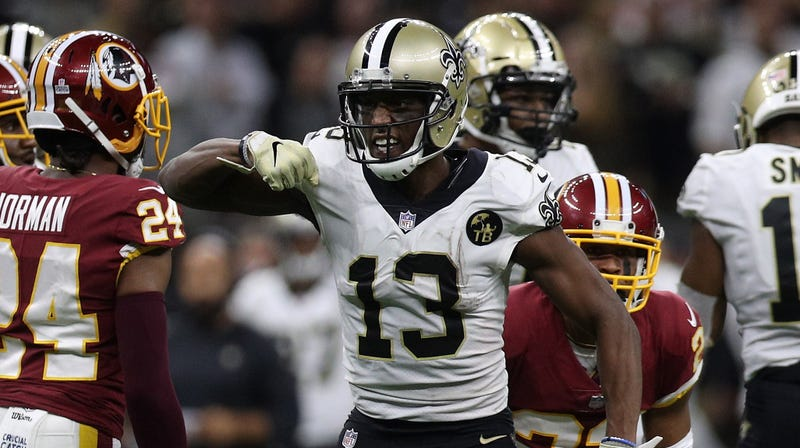 """Illustration for article titled Michael Thomas Stayed Up Late To Needle """"Goof Ball Con Artist"""" Josh Norman On Twitter"""