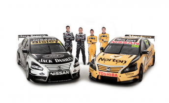 Illustration for article titled Kelly Racing - Nissan's 2013 V8 Supercar Lineup