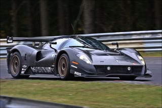 Illustration for article titled Gorgeous video of Ferrari P4/5 Competizione on the 'Ring