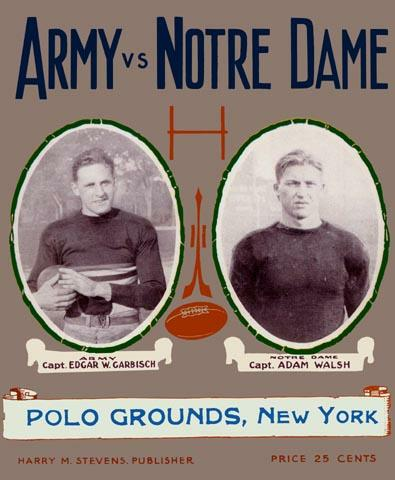 Illustration for article titled Report: Notre Dame Will Play Army At Yankee Stadium In History's Most Insufferable Football Game