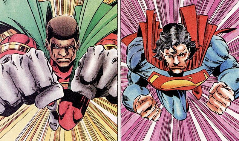 Illustration for article titled The Superman Crossover That Perfectly Explained White Privilege Decades Ago