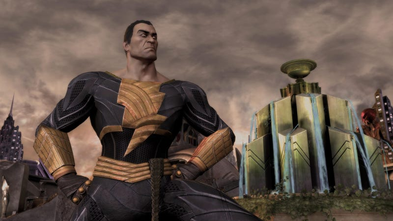 Illustration for article titled Injustice Gets a Little More Villainous by Adding Black Adam. You Can Try Him Out at PAX East.