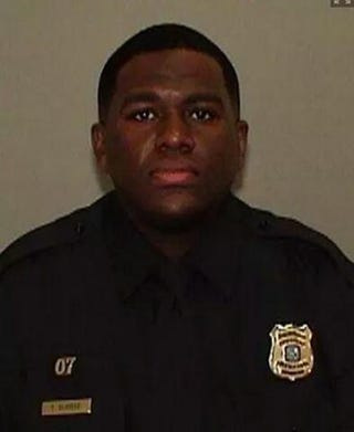 Officer Terence OlridgeTwitter