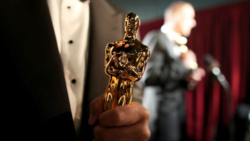 Let's find out who won one of these at the Academy Awards last night.