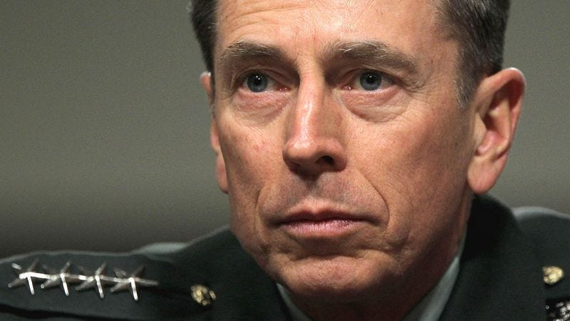 Illustration for article titled Sources: Petraeus Knew About Affair For More Than A Year
