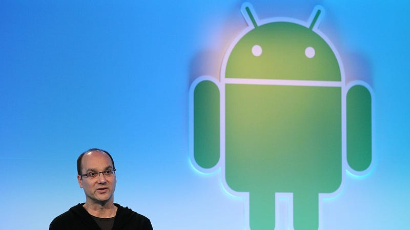 اندی روبین، سازنده Android در سال 2011.