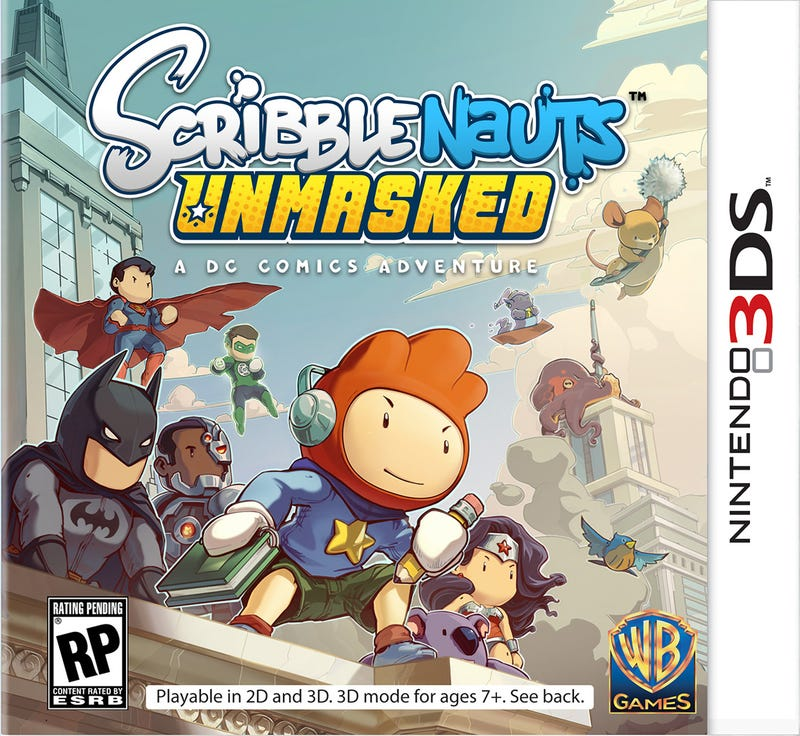 Illustration for article titled Scribblenauts Unmasked for 3DS is Awesome, Right?