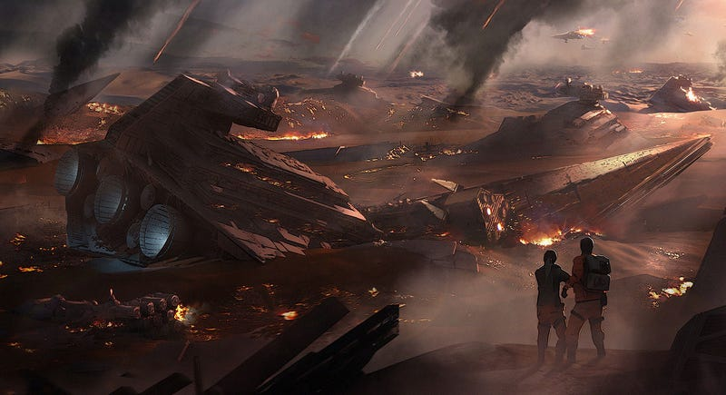 Illustration for article titled Why Does Everyone Want To Go Back To Jakku?