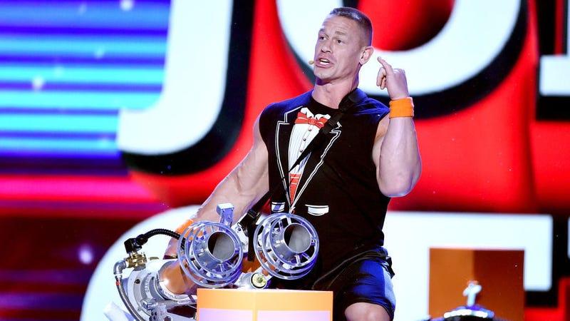 Image: John Cena at the 2017 Kids' Choice Awards, Getty / Kevin Winter