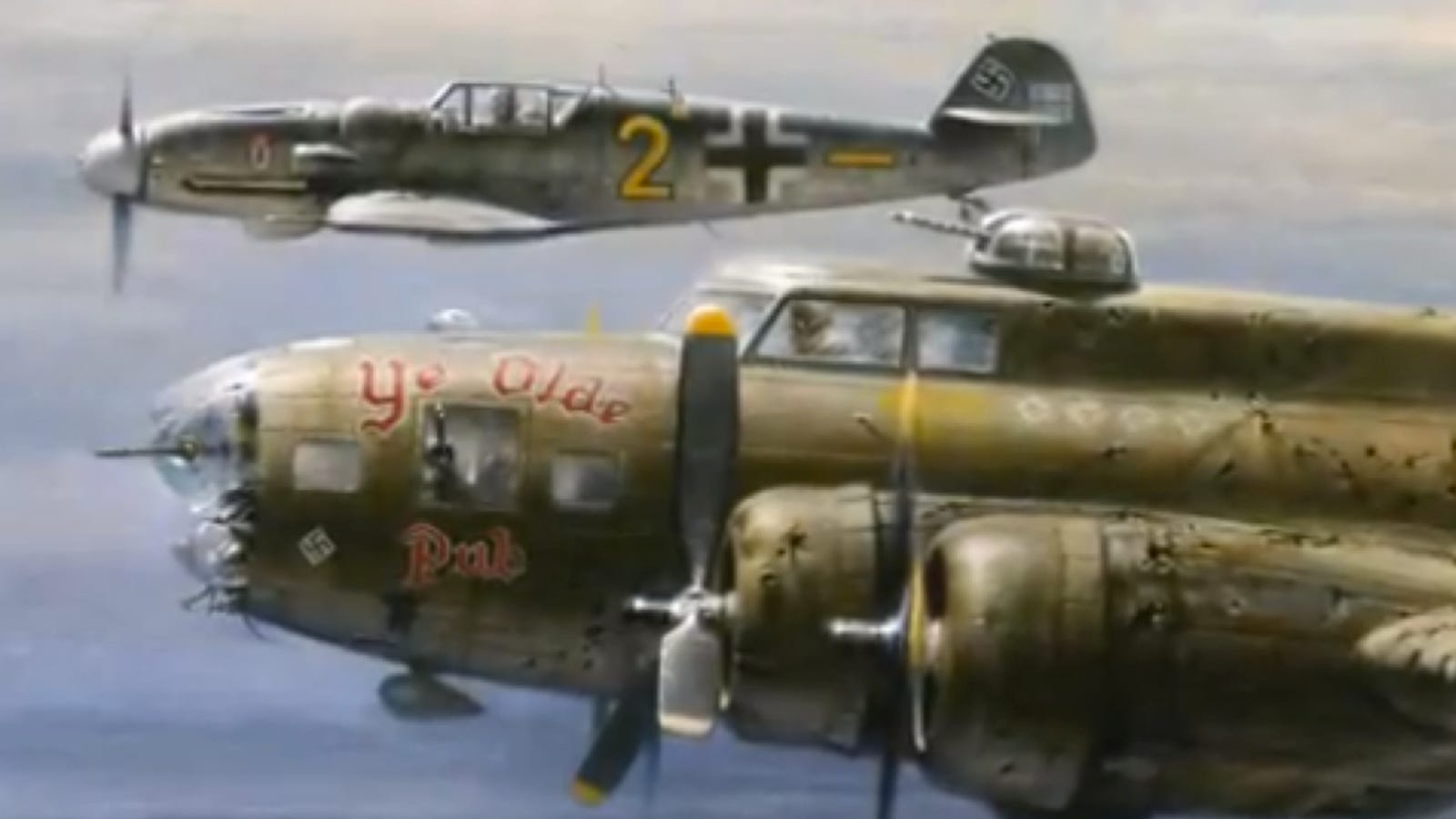 Why A German Pilot Escorted An American Bomber To Safety During