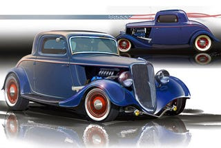 Illustration for article titled 400 HP Ecoboosted '34 Ford Retromod Hitting SEMA