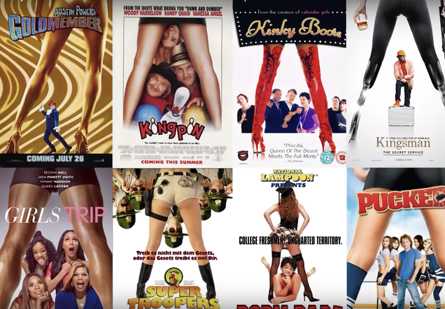 In case you didn't realize all movie posters look exactly the same, here's more proof