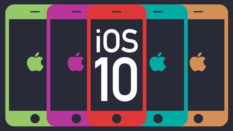Illustration for article titled Llega iOS 10: todas las novedades de la nueva versión del sistema operativo del iPhone
