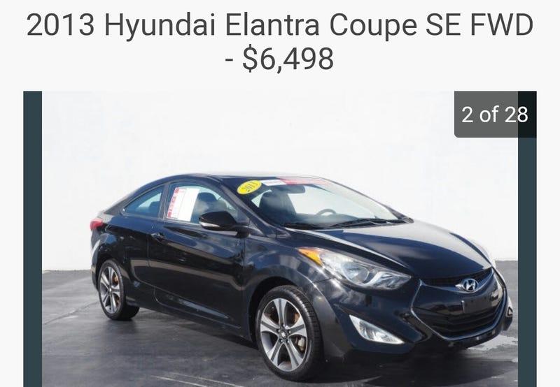 Illustration for article titled NPOCP- 2013 Hyundai Elantra Coupe SE