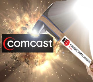 Illustration for article titled EFF Nails Comcast, Shows You How to Bust Your ISP, Too