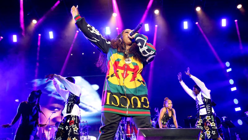 Missy Elliott performs onstage during the 2018 Essence Festival - Day 2 at Louisiana Superdome on July 7, 2018 in New Orleans, Louisiana.