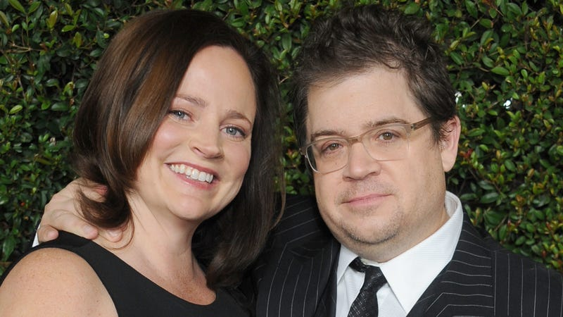 McNamara and Oswalt, at one of those red carpet events she'd leave early to go home and research