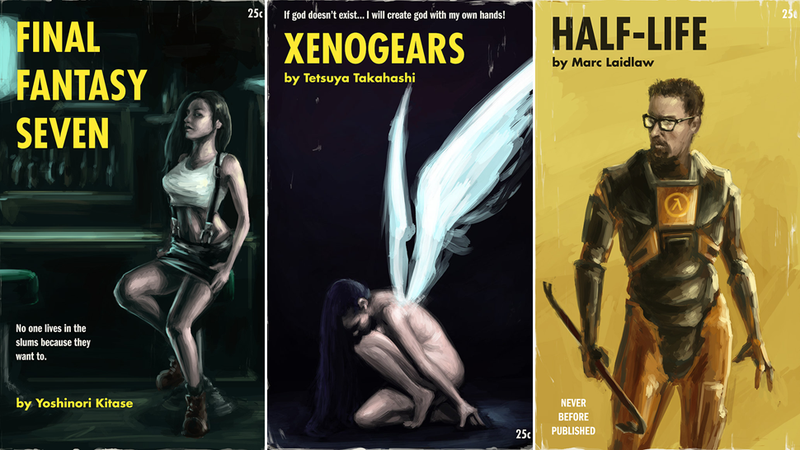 Illustration for article titled Video Games, Reimagined As Classic Paperback Novels