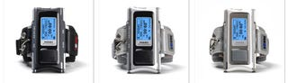 Illustration for article titled Paroos G100 GPS Trainer Has MP3 Player, Thermometer