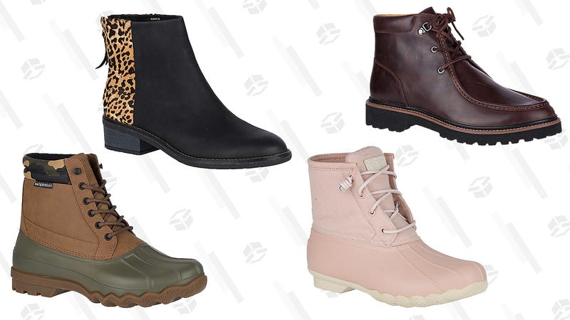 Up to 60% Off Select Boots | Sperry