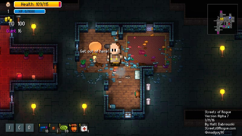 Streets Of Rogue Is A Roguelike You Can Talk, Bribe, Or Smash Your Way Through