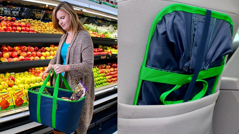 CleverMade SnapBasket Collapsible Shopping Basket | $13 | Amazon