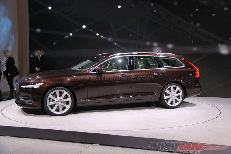 Illustration for article titled Got to check out a V90 today at the auto show.