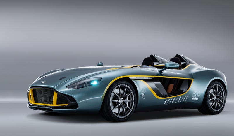 Illustration for article titled The Aston Martin CC100 Speedster Is A Century Of Design In One Concept