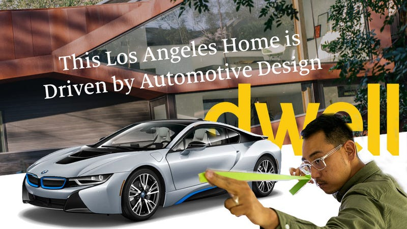Illustration for article titled Did The Designer Of The BMW i3 And i8 Take Too Much Credit For The Design Of His House?