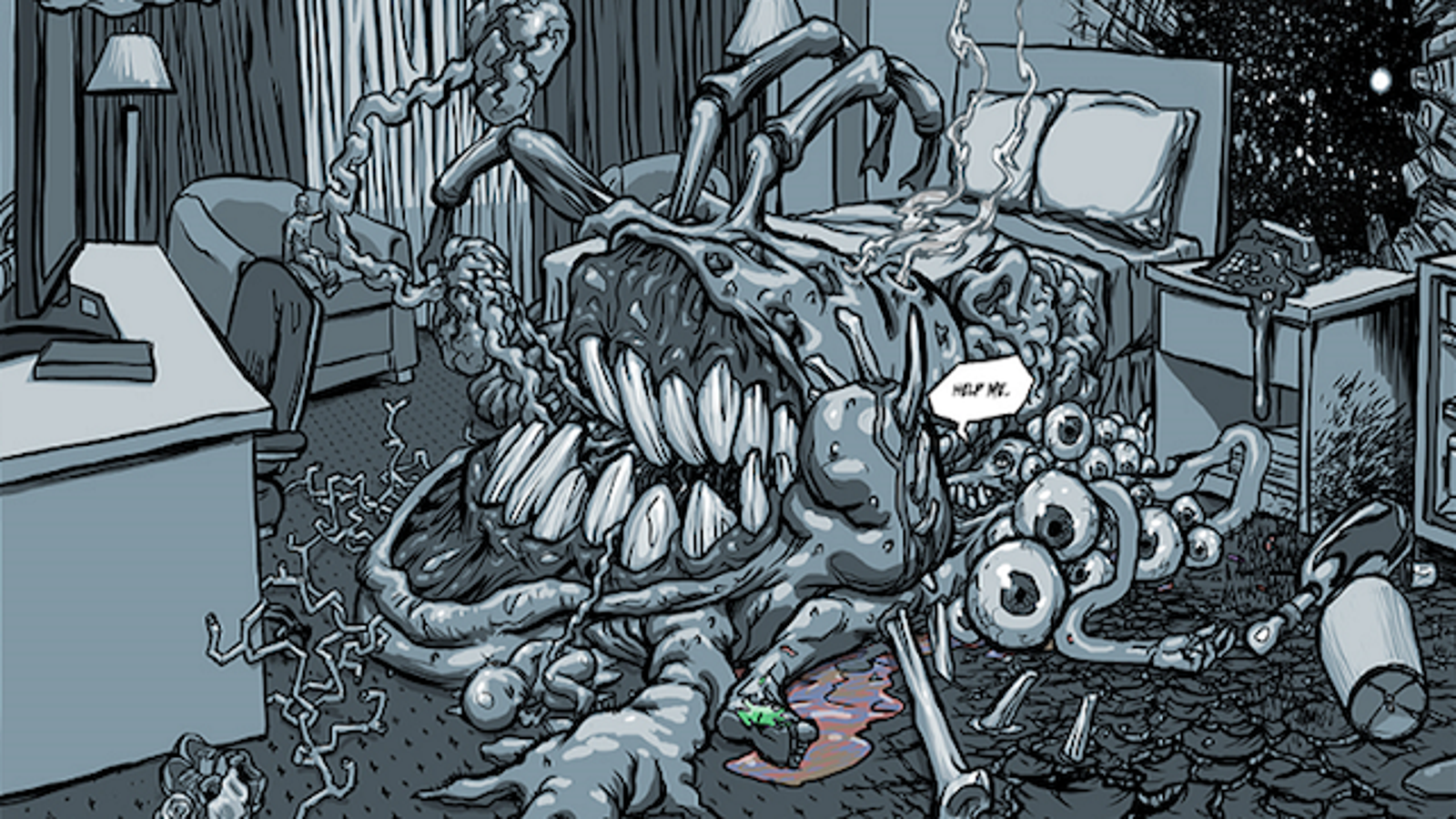 tons of horror webcomics to terrify you this halloween
