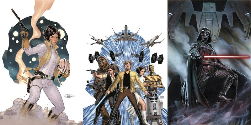 Illustration for article titled Everything You Need To Know About Marvel's New Star Wars Comics