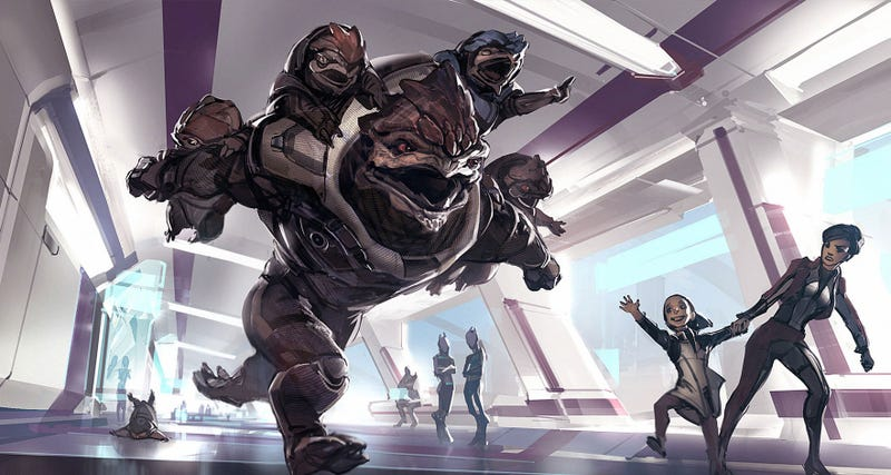 Illustration for article titled If The Mass Effect Games Had Kids