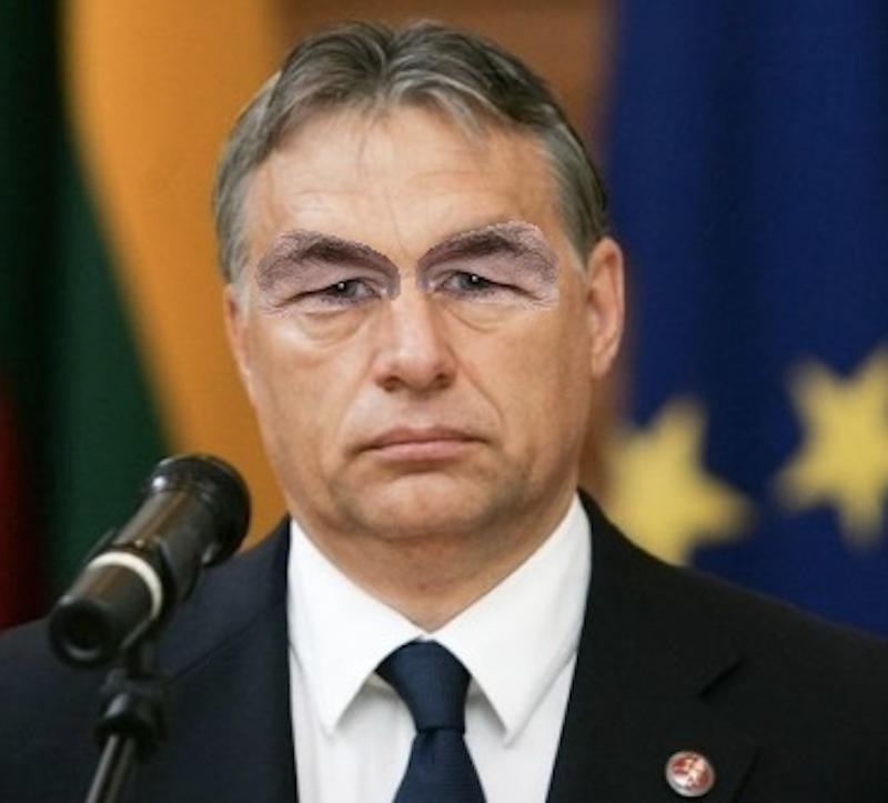 Illustration for article titled A nap hipnotikus képe: Orbán Viktor Horn Gyula szemét viseli