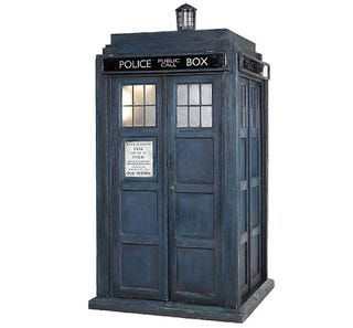 Illustration for article titled Own your own TARDIS (for $12,000 to $18,000)